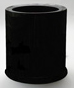 electric candle warmer black