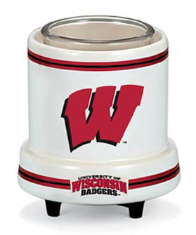 Wisconsin Badgers candle warmer, Wisconsin Badgers votive warmer